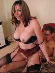 Jiz drinking stocking slut – Abigail Fraser